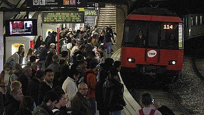 La huelga del Metro de Barcelona de este miércoles, con más servicios mínimos que la del lunes