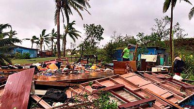 El ciclón Winston deja decenas de muertos y miles de desplazados en Fiji