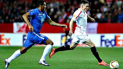 Los cuatro equipos españoles de la Europa League buscan este jueves su pase a los cuartos de final tras imponerse todos ellos en los partidos de ida de dieciseisavos, con goleada en algunos casos y escaso margen en otros.