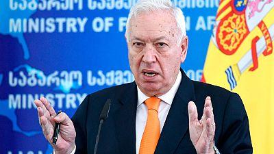 José Manuel García Margallo, de visita oficial en Georgia