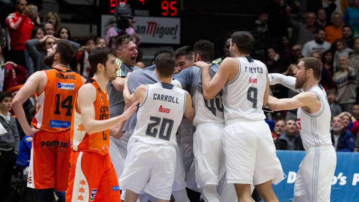Valencia Basket 94-95 Real Madrid