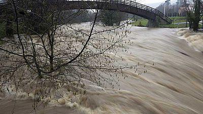 Alertas por desbordamientos en algunos ríos tras las intensas nevadas del fin de semana