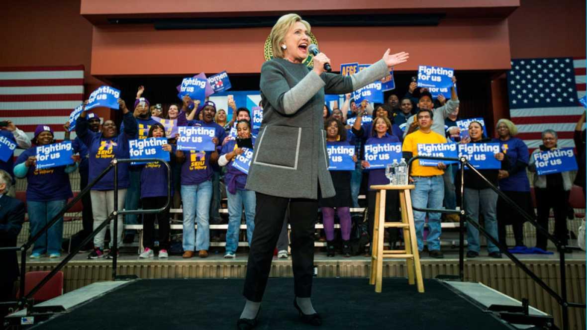 Hillary Clinton y Donald Trump buscan sentenciar las primarias de EE.UU. en el supermartes