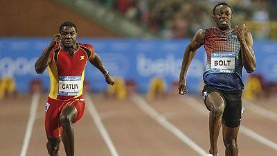 Gatlin pulveriza el récord de los 100 metros de Bolt, pero con el impulso de dos ventiladores
