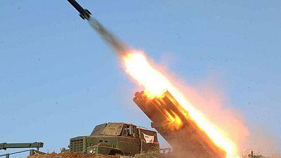 Pyongyang lanza seis misiles en respuesta a las duras sanciones impuestas por la ONU