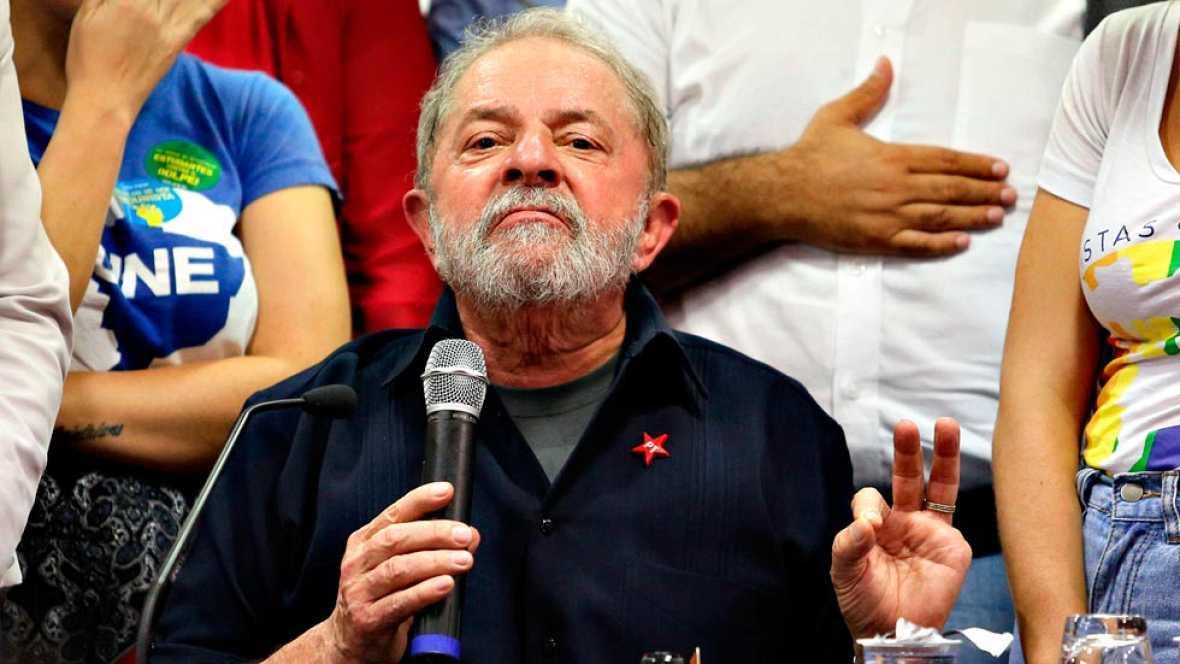 Lula da Silva queda en libertad tras declarar por corrupción en el caso Petrobras