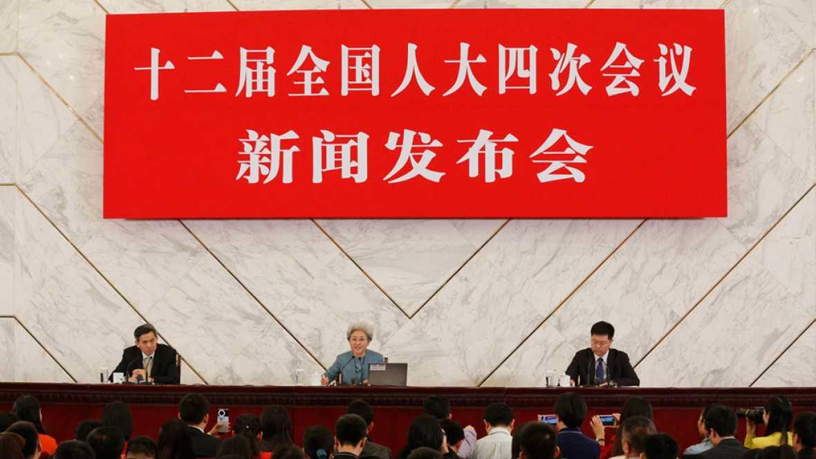 China recorta su meta de crecimiento