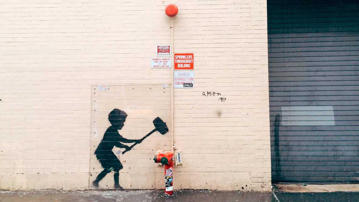 Un estudio científico desvela la identidad de Banksy