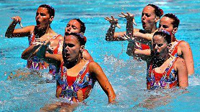 El equipo español de natación sincronizada no ha conseguido una de las tres plazas que dan acceso a la competición olímpica, tras finalizar en quinta posición en el Preolímpico que se disputa en Río de Janeiro.