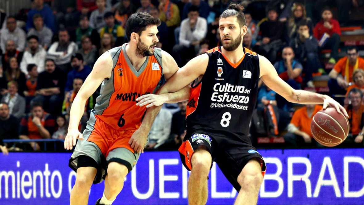 El Valencia Basket mete presión al Barça Lassa y se pone momentáneamente primero tras vencer al Montakit Fuenlabrada por 81-86. Hamilton, Martínez, San Emeterio, Shurna y Sikma, entre los 13 y 15 puntos.