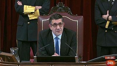 Parlamento - Conoce el parlamento - El estreno de Patxi López en la sesión de investidura - 05/03/2016ilopez-05032016