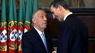 El Rey retoma su agenda en Lisboa para asistir a la toma de posesión del presidente de Portugal