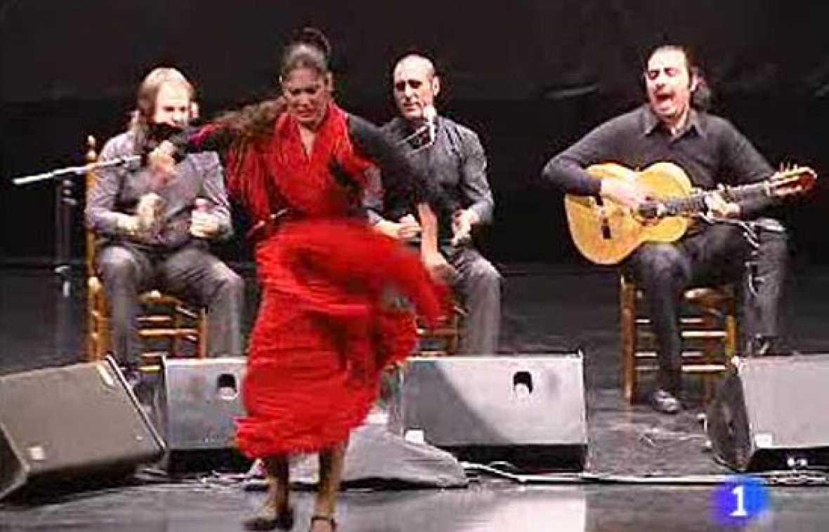 Puertollano ha celebrado un festival de flamenco en el que han descubierto una nueva estrella, la Chimi... de California.