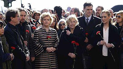 Unidad entre los partidos políticos en los actos de homenaje por el 11M