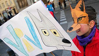 Más de 200 organizaciones animalistas y ecologistas se manifiestan en defensa del lobo ibérico