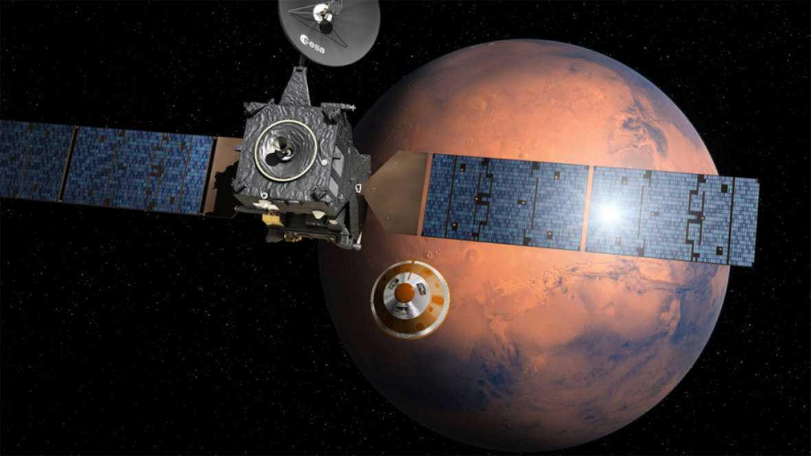 Todo listo para el lanzamiento de la primera misión de ExoMars