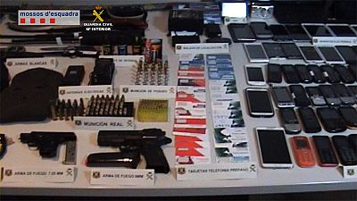 Desarticulada una banda internacional especializada en asaltar violentamente a otros narcotraficantes