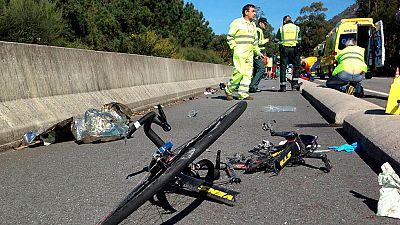 Se investigan las condiciones en las que el conductor que arrolló a los ciclistas en Pontevedra pasó el test psicotécnico