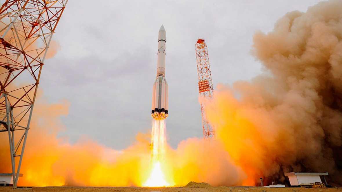 Éxito del lanzamiento de la misión Exomars, primer paso de Europa en la conquista de Marte