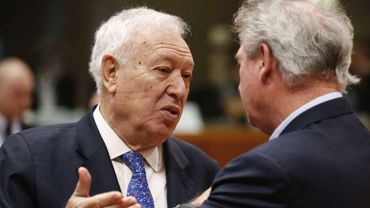 Margallo rechaza las expulsiones colectivas de refugiados