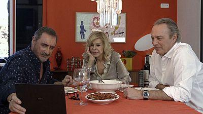 Los tres hombres de la vida de Bibiana Fernández