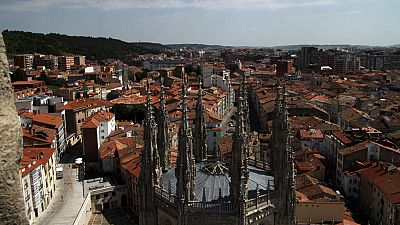 A vista de p�jaro - Burgos