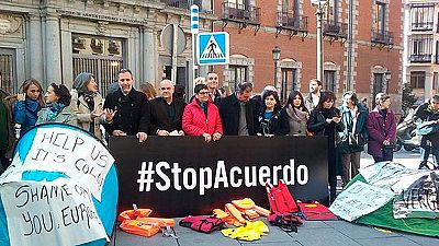 """Las ONG piden al Gobierno español el rechazo """"incondicional"""" del preacuerdo entre la UE y Turquía"""