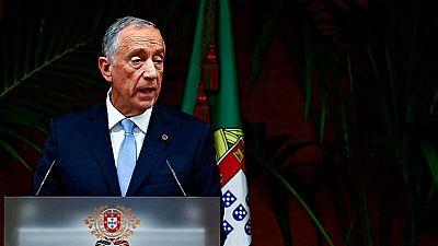 El nuevo presidente de Portugal, Marcelo Rebelo de Sousa, charla con TVE antes de su visita a España
