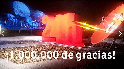 La cuenta de Twitter del canal 24 horas de TVE supera el millón de seguidores