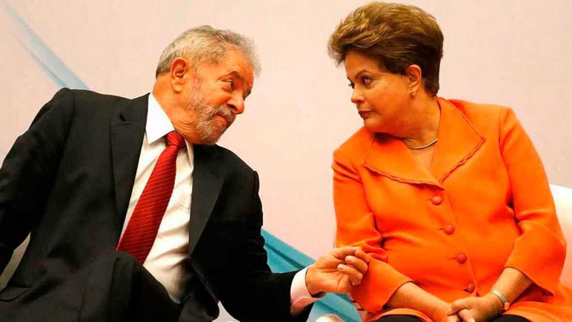 Dilma Rousseff intentó evitar la posible detención de Lula, según escuchas policiales