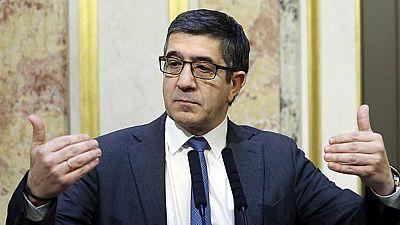 Patxi Lopez intentará convencer al gobierno para que se someta al control parlamentario