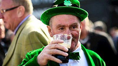 Los irlandeses celebran el día de San Patricio en todo el mundo