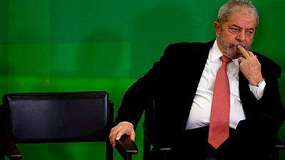 """Lula reclama """"justicia"""" en una carta abierta a los brasileños tras anularse su nombramiento como ministro"""