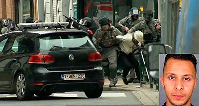 Salah Abdeslam, herido y detenido en Bruselas tras una macrooperación antiterrorista en Molenbeek