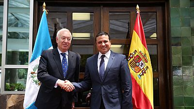 Margallo reafirma el compromiso de España con Guatemala