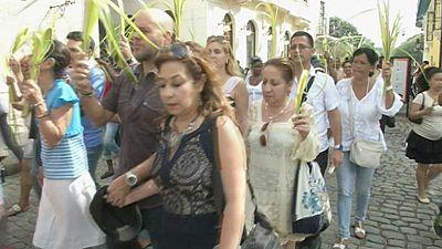 Domingo de Ramos en La Habana con la vista puesta en la visita de Obama