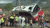 Tr�gico accidente de autobus