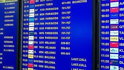 240 vuelos cancelados debido a la huelga de controladores franceses