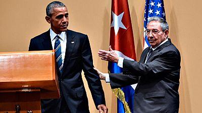 Obama y Castro escenifican en La Habana el acercamiento entre EE.UU. y Cuba, pero también sus diferencias