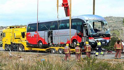 Autorizan la repatriación de cuatro de las víctimas del accidente de autobús