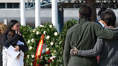 Los familiares de las víctimas de Germanwings recuerdan a sus seres queridos en el primer aniversario