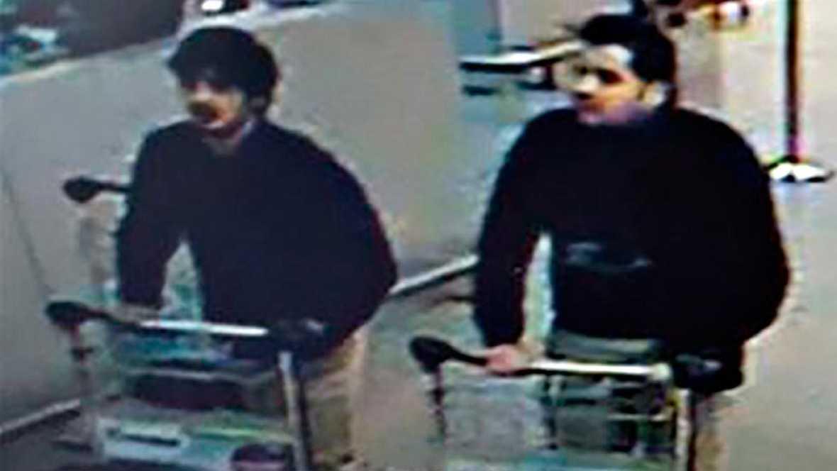 La policía belga ha puesto nombre a los terroristas suicidas de los atentados de Bruselas