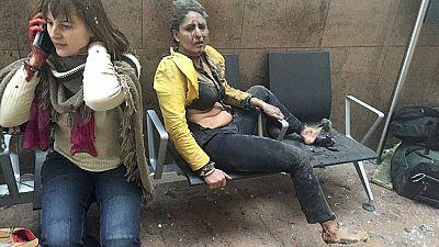 La mujer que encarnó el horror de los atentados se encuentra bien
