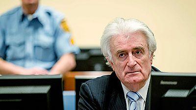Condena de 40 años para Radovan Karadzic por crímenes de guerra en las guerras de los Balcanes
