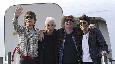 Los Rolling Stones ya están en La Habana para un concierto histórico