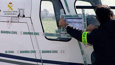 Cae una red que introducía hachís desde Marruecos a través de helicópteros