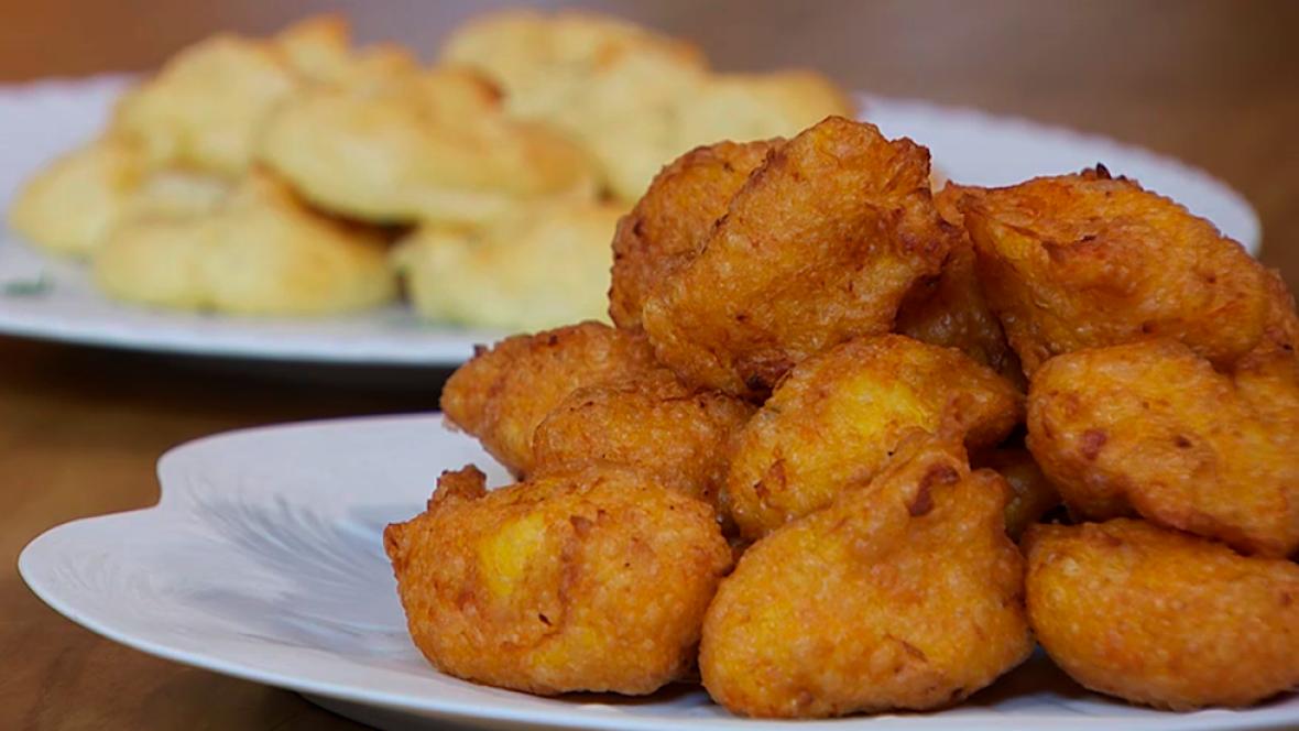 Receta de bu uelos de calabaza y de queso - Pure de patatas y calabaza ...