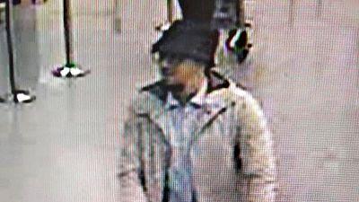 Las autoridades belgas han difundido un v�deo para tratar de localizar al 'terrorista del sombrero'