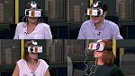 La puerta del tiempo- Así son las reacciones al probar El Ministerio VR