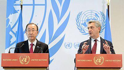 La ONU pide una mayor solidaridad global para los refugiados sirios